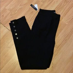 Reitmans black pants 8 tall